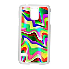 Irritation Colorful Dream Samsung Galaxy S5 Case (White)
