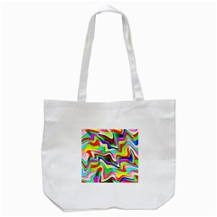 Irritation Colorful Dream Tote Bag (white)