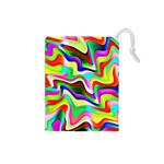 Irritation Colorful Dream Drawstring Pouches (Small)  Front