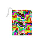 Irritation Colorful Dream Drawstring Pouches (Small)  Back