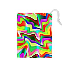 Irritation Colorful Dream Drawstring Pouches (Medium)