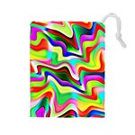 Irritation Colorful Dream Drawstring Pouches (Large)  Front
