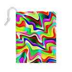 Irritation Colorful Dream Drawstring Pouches (Large)  Back