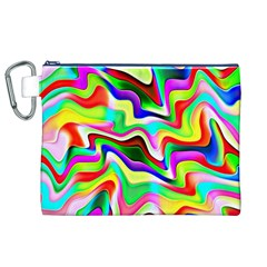 Irritation Colorful Dream Canvas Cosmetic Bag (xl) by designworld65
