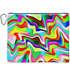Irritation Colorful Dream Canvas Cosmetic Bag (xxxl) by designworld65