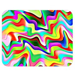 Irritation Colorful Dream Double Sided Flano Blanket (Medium)