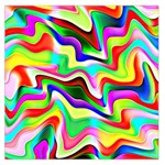 Irritation Colorful Dream Large Satin Scarf (Square) Front