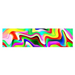 Irritation Colorful Dream Satin Scarf (Oblong)