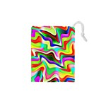 Irritation Colorful Dream Drawstring Pouches (XS)  Front