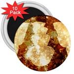Sparkling Lights 3  Magnets (10 pack)  Front