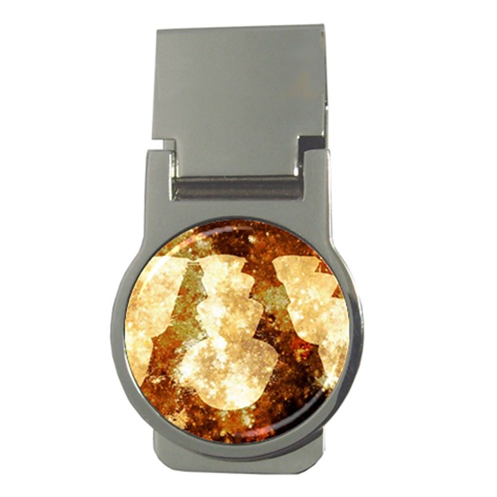 Sparkling Lights Money Clips (Round)