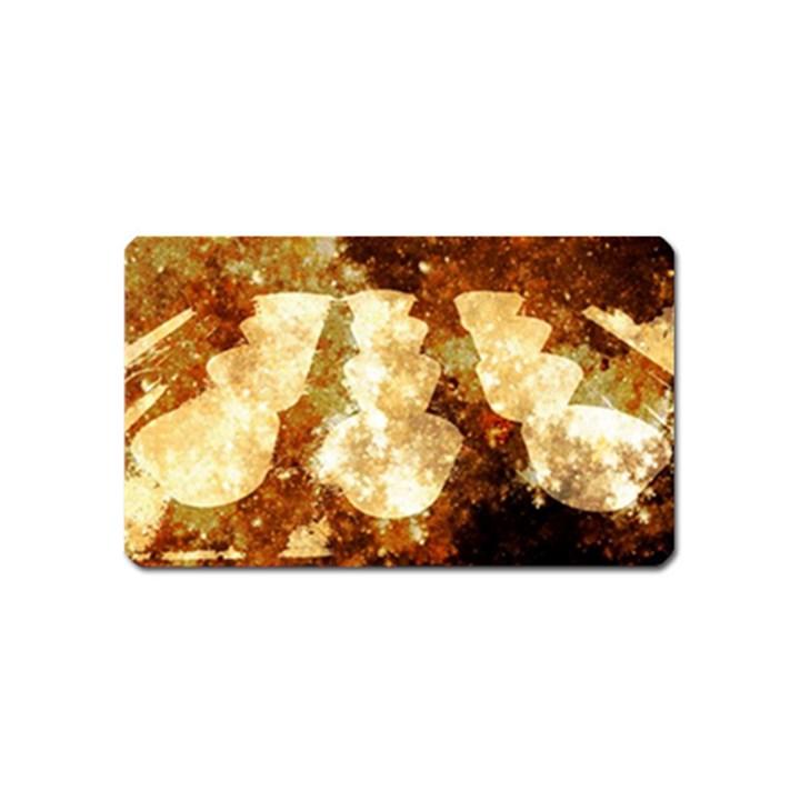 Sparkling Lights Magnet (Name Card)