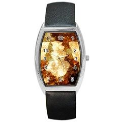 Sparkling Lights Barrel Style Metal Watch by yoursparklingshop
