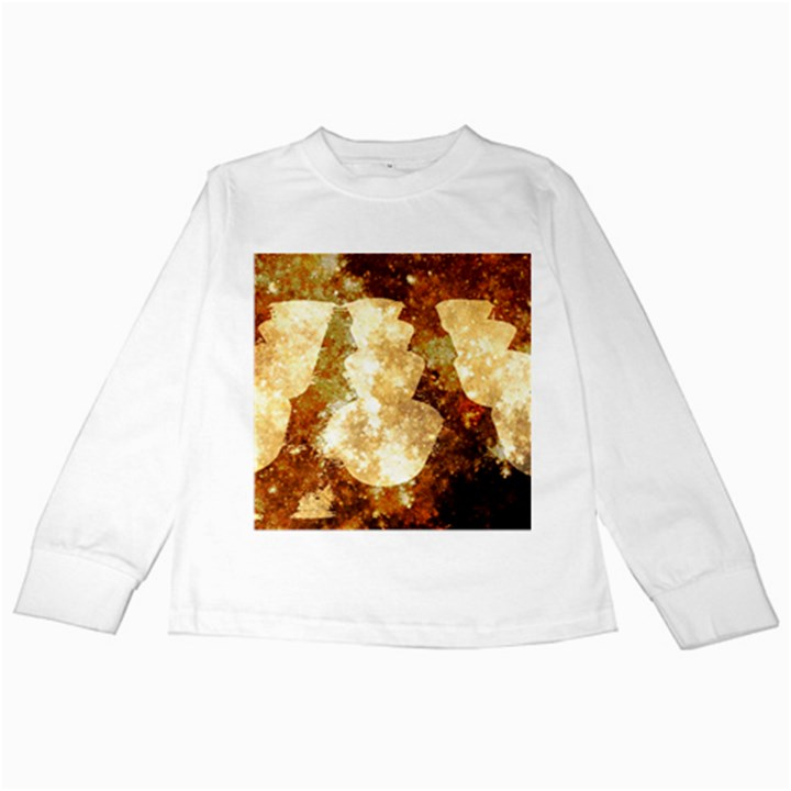 Sparkling Lights Kids Long Sleeve T-Shirts