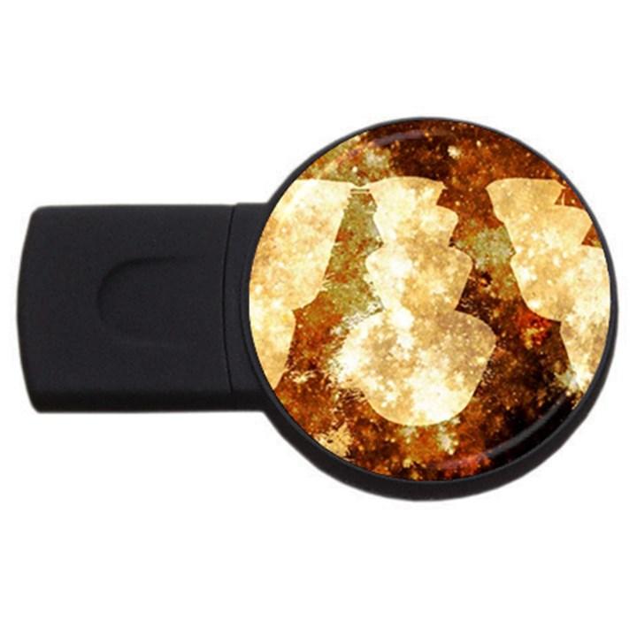 Sparkling Lights USB Flash Drive Round (4 GB)