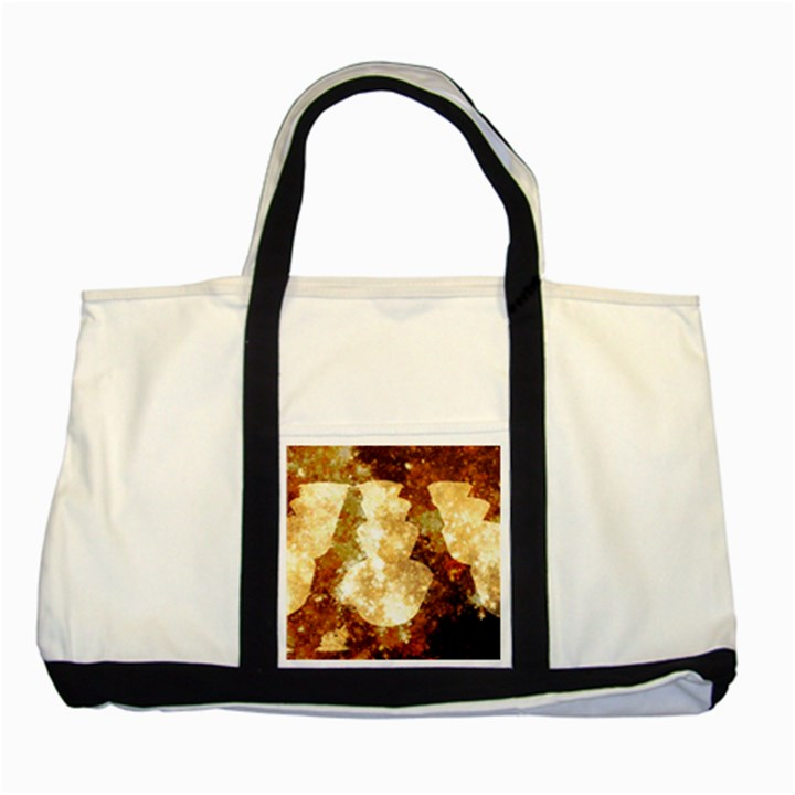 Sparkling Lights Two Tone Tote Bag