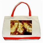 Sparkling Lights Classic Tote Bag (Red)
