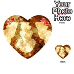 Sparkling Lights Playing Cards 54 (Heart)  Front - Heart10