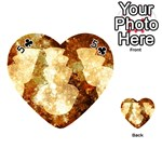 Sparkling Lights Playing Cards 54 (Heart)  Front - Club5