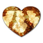 Sparkling Lights Heart Mousepads