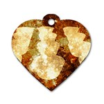Sparkling Lights Dog Tag Heart (Two Sides)
