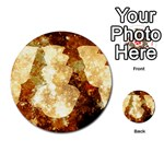 Sparkling Lights Multi-purpose Cards (Round)  Front 44