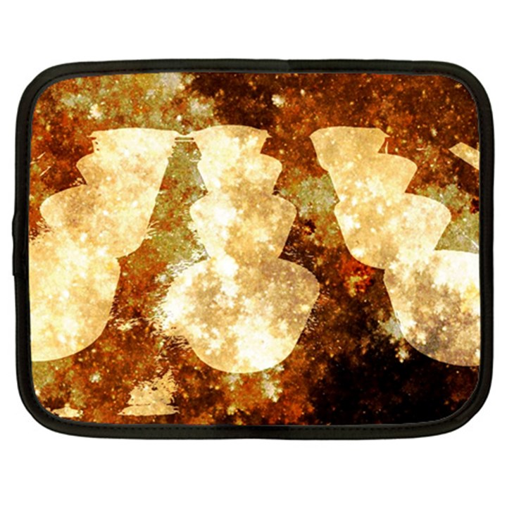 Sparkling Lights Netbook Case (XL)