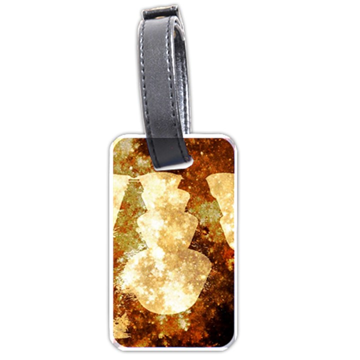 Sparkling Lights Luggage Tags (One Side)