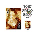 Sparkling Lights Playing Cards 54 (Mini)  Front - SpadeQ
