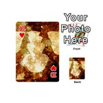 Sparkling Lights Playing Cards 54 (Mini)  Front - Heart10