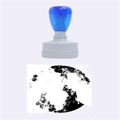 Sparkling Lights Rubber Oval Stamps
