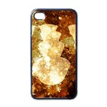 Sparkling Lights Apple iPhone 4 Case (Black)