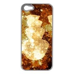 Sparkling Lights Apple iPhone 5 Case (Silver)