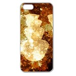 Sparkling Lights Apple Seamless iPhone 5 Case (Clear) Front