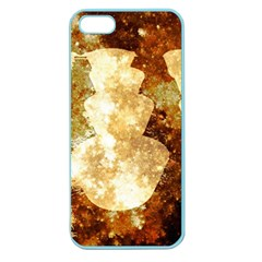 Sparkling Lights Apple Seamless Iphone 5 Case (color) by yoursparklingshop