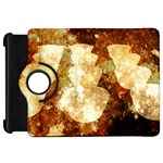 Sparkling Lights Kindle Fire HD Flip 360 Case