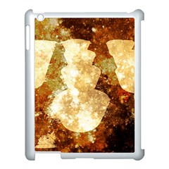 Sparkling Lights Apple Ipad 3/4 Case (white) by yoursparklingshop