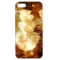 Sparkling Lights Apple Iphone 5 Hardshell Case With Stand by yoursparklingshop