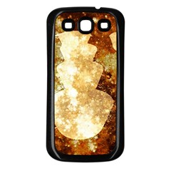 Sparkling Lights Samsung Galaxy S3 Back Case (black) by yoursparklingshop