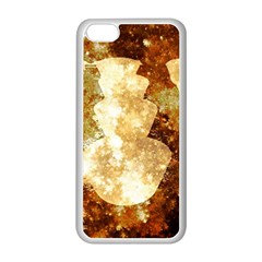 Sparkling Lights Apple Iphone 5c Seamless Case (white) by yoursparklingshop