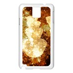 Sparkling Lights Samsung Galaxy Note 3 N9005 Case (White)