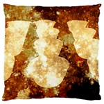 Sparkling Lights Large Flano Cushion Case (Two Sides)