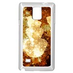 Sparkling Lights Samsung Galaxy Note 4 Case (White)