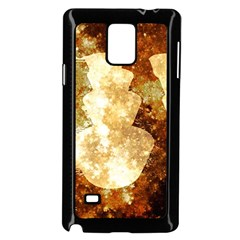 Sparkling Lights Samsung Galaxy Note 4 Case (black) by yoursparklingshop