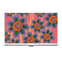 Colorful Floral Dream Business Card Holders