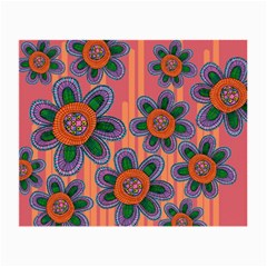 Colorful Floral Dream Small Glasses Cloth by DanaeStudio