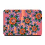 Colorful Floral Dream Small Doormat  24 x16 Door Mat - 1