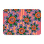 Colorful Floral Dream Plate Mats 18 x12 Plate Mat - 1