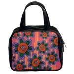 Colorful Floral Dream Classic Handbags (2 Sides) Front