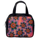Colorful Floral Dream Classic Handbags (2 Sides) Back